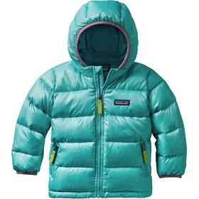 """Patagonia Baby Hi-Loft Down Sweater Hoody Strait Blue"""